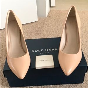 Cole Haan Nude leather pumps